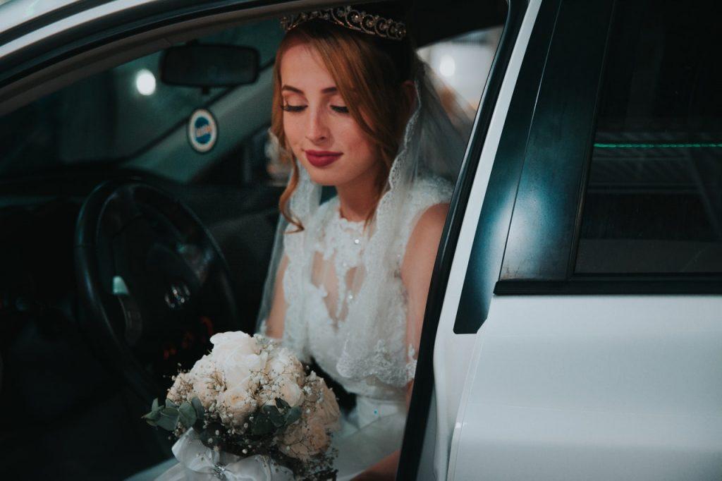 Une mariée très belle