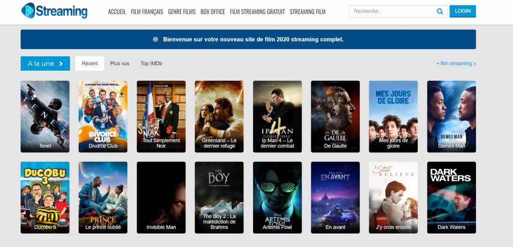 Site de Streaming Streaming01