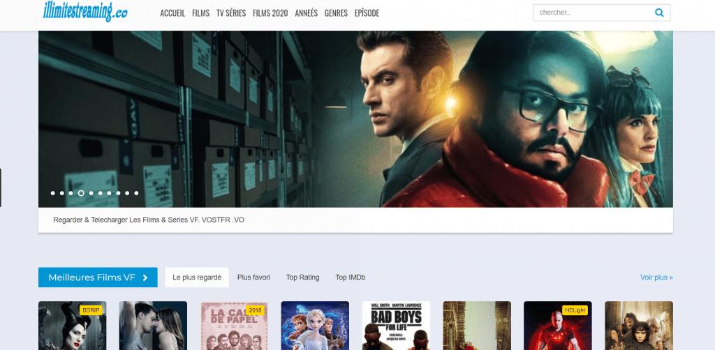 Site de Streaming Illimite Streaming