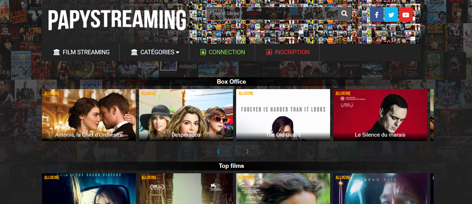Site de streaming Papystreaming