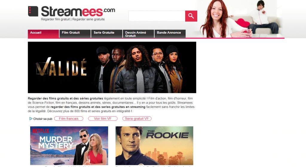 Streamess site de streaming