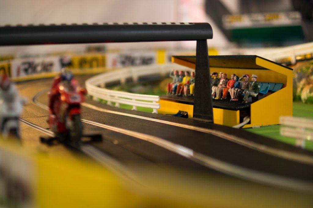 Circuit de course de moto