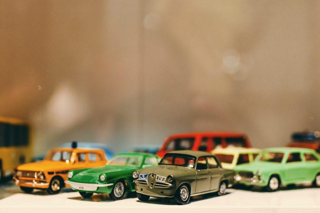 Ensemble de petites voitures, jouets enfant