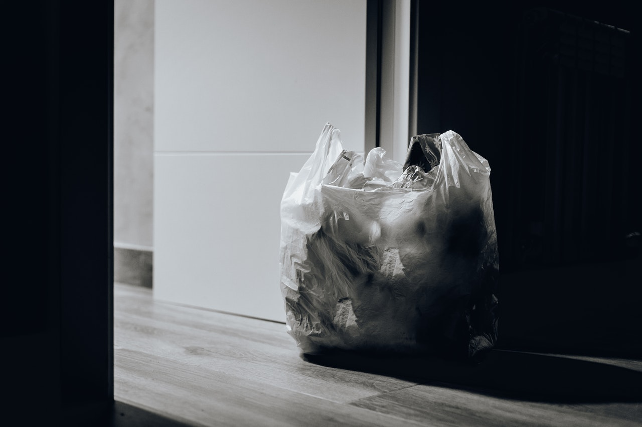 Poubelle de déchet papier