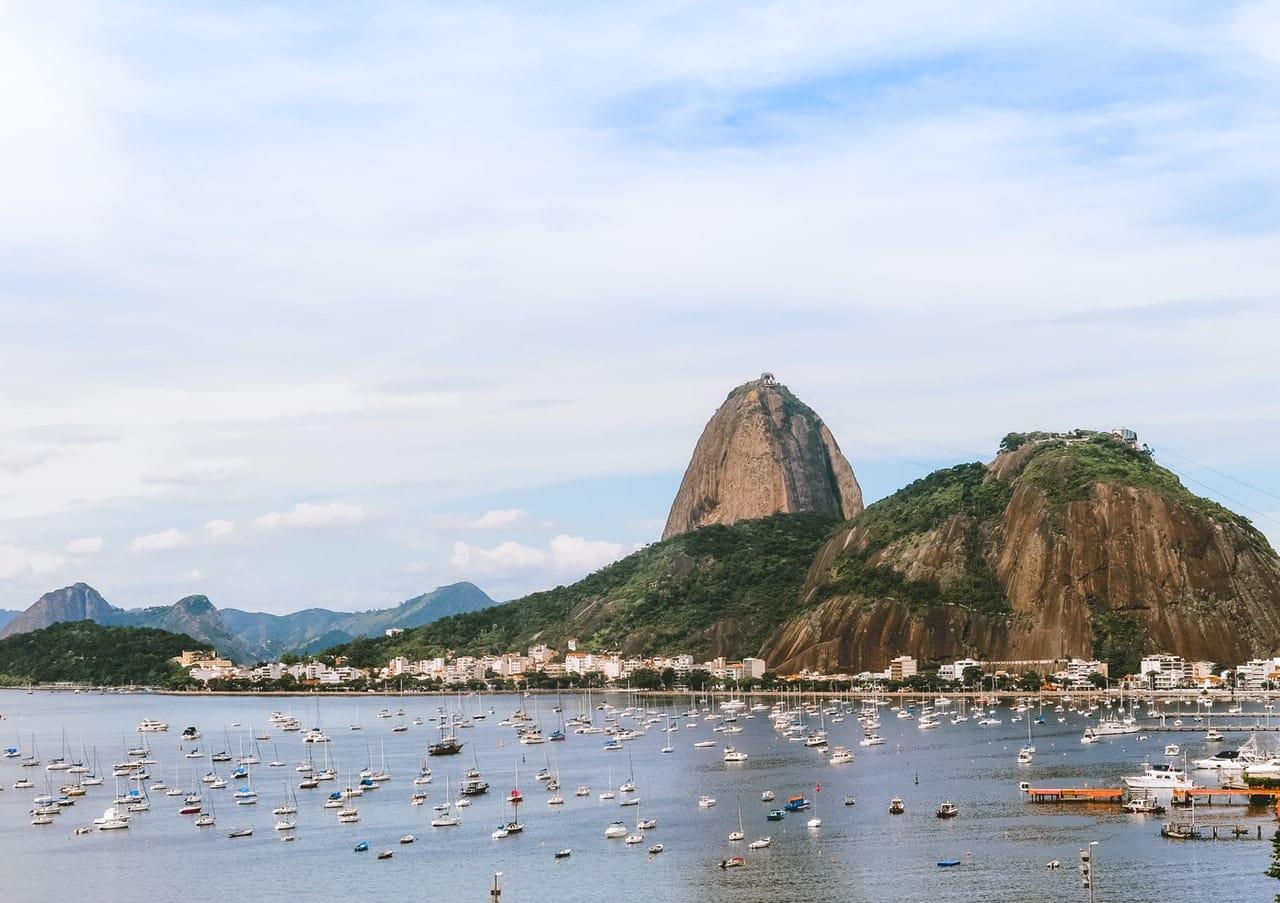 Brésil, entre mer et montagne, bateau