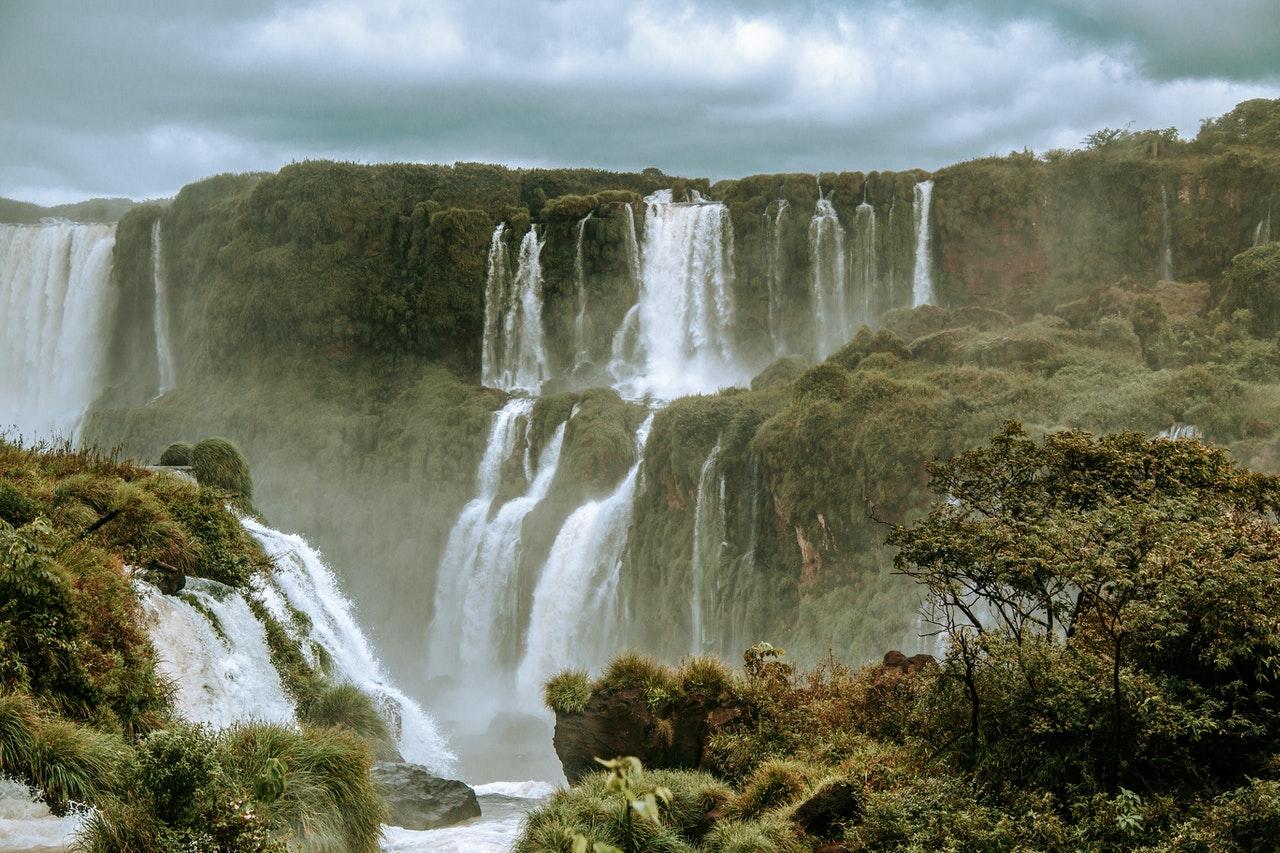 Canyon Brésils cascade