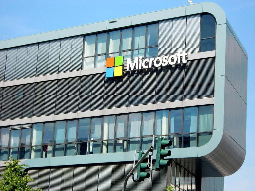 Bâtiment, siège social de Microsoft en France à Cologne