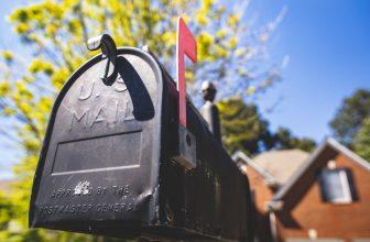 Boîte aux lettres au design americain