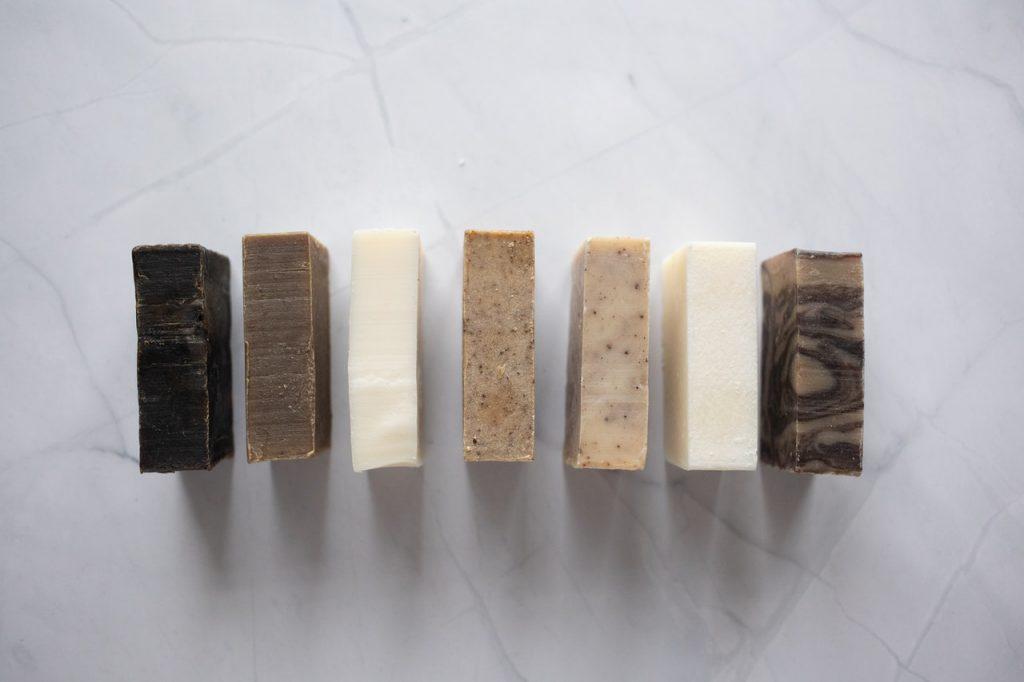Bloc de savon aux différentes senteur
