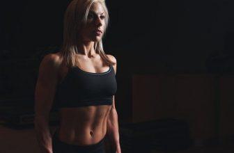 femme avec un corps ferme