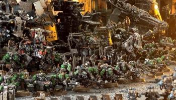 Comment faire de beaux socles pour ses figurines Warhammer 40k ?